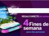 GRAN OFERTA DE ONO: 20MB REALES DE FIBRA OPTICA Y DE REGALO 4 FINES DE SEMANA GRATIS PARA DOS PERSONAS