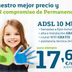 MOVISTAR ADSL BASE: 17,62€ AL MES