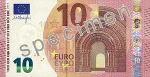 BILLETE 10€