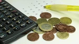 calculadora y dinero